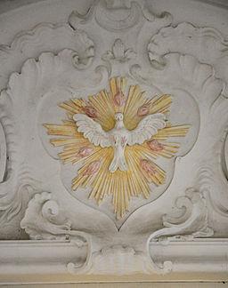 le Saint-Esprit sous forme de colombe