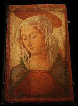 256px-Domenico_Ghirlandaio_-_Tête_d'une_sainte_femme_avec_une_auréole