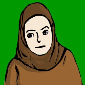 dessin de hijab